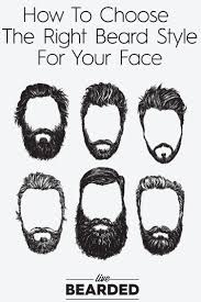 find right hairstyle for face shape of yours beard care 104 choosing the right beard style beard care beard