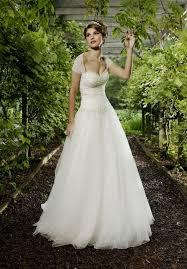 simple wedding dress with cap sleeves naf dresses