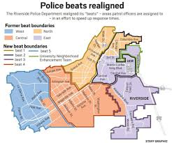 Chicago Police Beat Map by Riverside Police Re Assign Patrol Areas May Improve Response