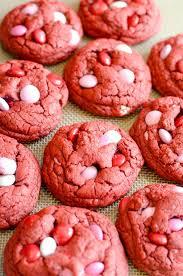 red velvet m u0026m cookies something swanky
