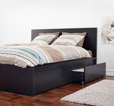 ikea skubb drawer organizer malm underbed storage box for high bed black brown high beds
