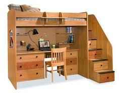 Free Plans For Bunk Beds With Desk by Diy Kids Bunk Bed Free Plans Loft Bunk Beds Bunk Bed And Lofts