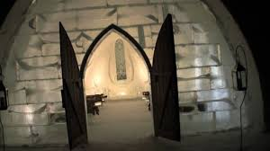 Hotel De Glace Ice Hotel Guided Tour Hotel De Glace Quebec City Canada Youtube