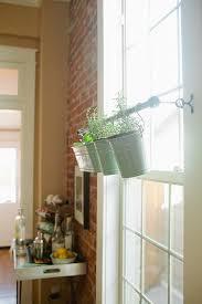 Indoor Herb Pots Window Box - herbs herbs on window shelves in my home pinterest window