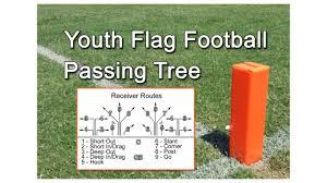 youth flag football passing tree