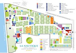 South France Map by Camping Map Camping La Nautique Narbonne Aude South Of France