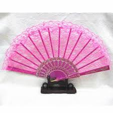 hand fans for sale a lot of three rose pink lace japanese wedding bridal hand fan fans