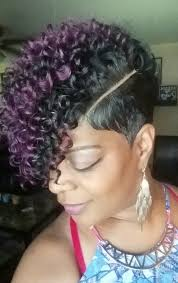 how to fix kinky weave on natural hair short curly weave graffitipart pinteres