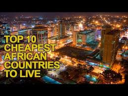 Cheapest States To Live In Top 10 Cheapest Countries To Live In Africa Youtube
