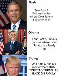 Bush Memes - bush obama trump memes on the rise dom toretto memes next