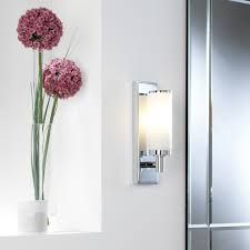 astro verona 0655 bathroom wall light ip44 chrome