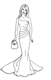 collecting fashion dolls terri gold coloring pages