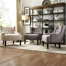walmart club chair home tufted linen upholstered club chair living