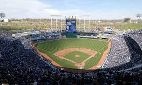 Kauffman Stadium Map Kansas City Royals Major League Baseball At Kauffman Stadium