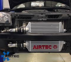 volkswagen polo modification parts airtec front mount intercooler upgrade kit volkswagen polo 9n gti