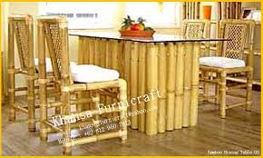 Bamboo Dining Table Set Wonderful Dining Table Sets 3 Bamboo Bamboo Dining