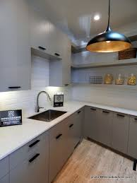 kitchens with light gray kitchen cabinets remodelaholic 40 beautiful kitchens with gray kitchen cabinets