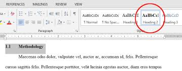Create Table Of Contents In Word 2013 Q How Do I Create An Automatic Table Of Contents In Word 2013