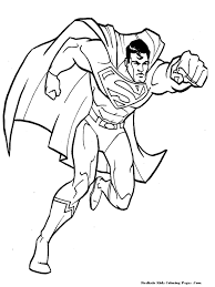 man steel coloring pages coloring