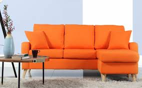 Orange Sofa Bed by Sectional Sofas Leather Sectionals Reclining Sectionals