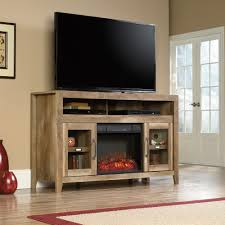 dakota pass entertainment fireplace credenza 419119 sauder