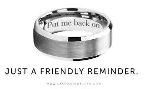 ring engravings put me back on ring engraving on tungsten carbide ring