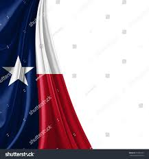 Texas Flag Image Texas Flag White Background Stock Illustration 259983293