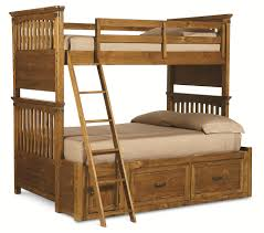 Bunk Bed With Crib On Bottom by Twin Over Full Bunk Bed With Underbed Storage Unit By Legacy