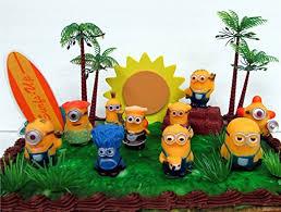 despicable me cake topper despicable me birthday