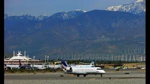 palm springs international airport opening economy lot for