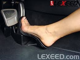 lamborghini shoes tv pedal pumping driving diana is speedingon the autobahn foot