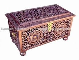 large wooden box woo carving large treasure chest box antique wood box wood craft