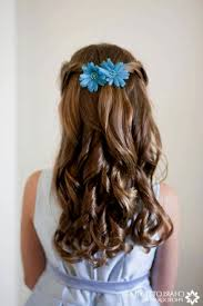 flower girl hair flower girl hairstyles curly hairstyles ideas