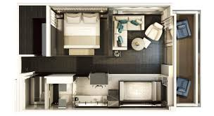 Monte Carlo Spa Suite Floor Plan by Scenic Eclipse