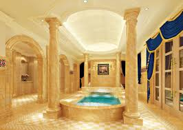 palace bathroom interior design rendering interior design