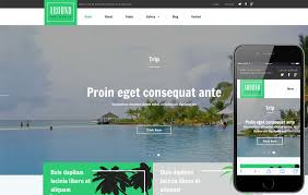 travel web images Around a travel category responsive web template jpg