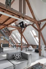 attic loft office attic converted into loft apartment keeping original wood