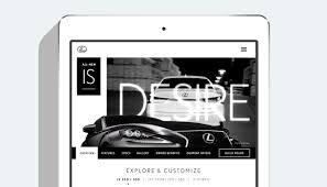 lexus manufacturer website lexus huge