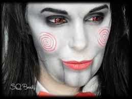 Jigsaw Halloween Makeup