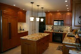 Natural Cherry Shaker Kitchen Cabinets Rich Gardner Gardner Woodworking Inc Murrysville Pa
