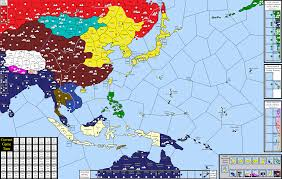 World War 2 In Europe And North Africa Map by Empires Of History Wwii Strategy Board Game