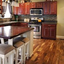 what color hardwood floors go with cherry cabinets why interior decorators are falling for acacia wood floors