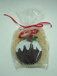 textile trolley hand made felt christmas ornaments
