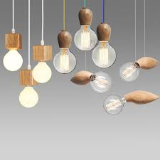 electric cord with light bulb modern wood pendant lights home lighting electric cord hanging l