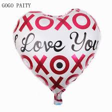 valentines day balloons wholesale aliexpress buy gogo paity free shipping new heart i you