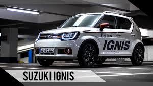suzuki suzuki ignis 2017 test review fahrbericht motorwoche