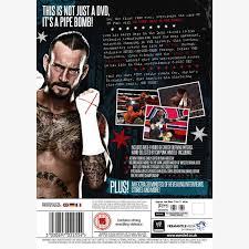 cm punk best in the world dvd 3 discs