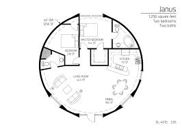 floor plan dl 4010 monolithic dome institute