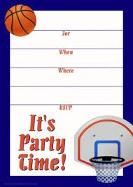 basketball party invitations basketball party invitations combined