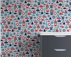 adhesive wallpaper etsy